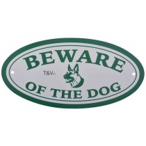 "Esschert Design Bord ""Beware of the dog"" 